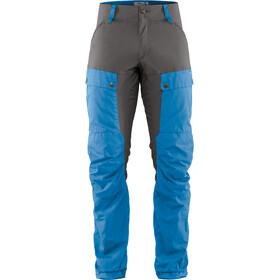 Fjällräven Keb Pantalones Hombre, azul/gris